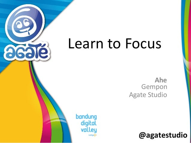 @agatestudio Learn to Focus Ahe 1 Gempon Agate Studio
