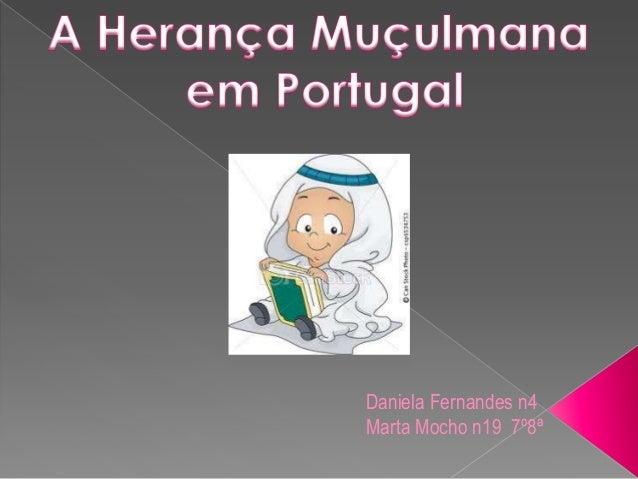 Daniela Fernandes n4Marta Mocho n19 7º8ª