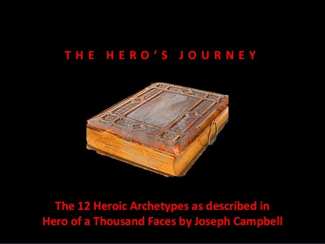 T H E H E R O ' S J O U R N E Y The 12 Heroic Archetypes as described in Hero of a Thousand Faces by Joseph Campbell