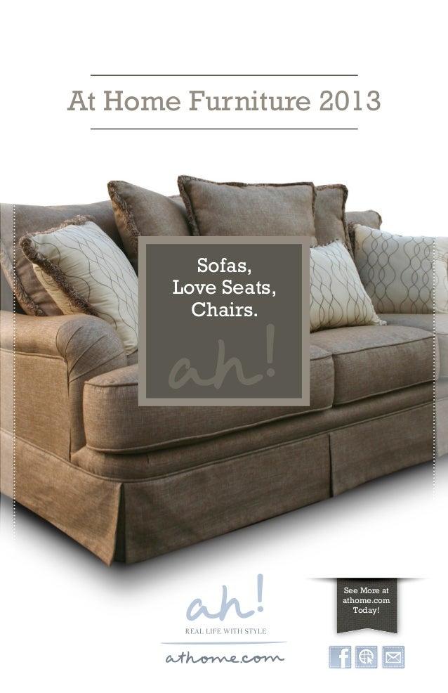 At Home Furniture 2013 Sofas  Love Seats  Chairs. athome com Furniture Catalog