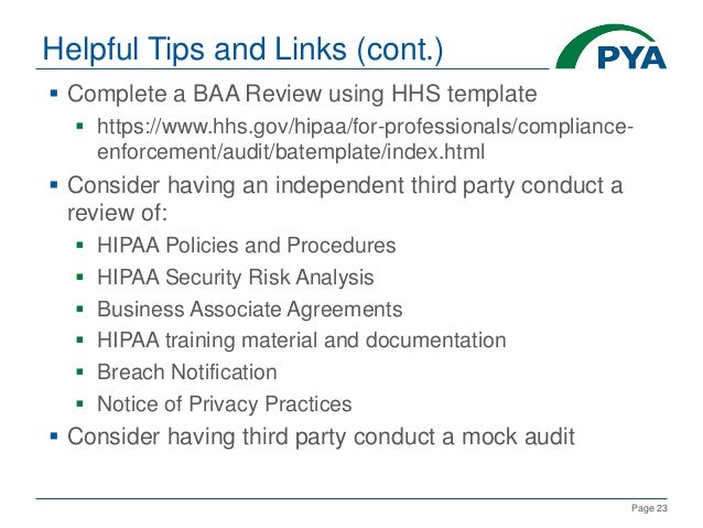 Preparing & Responding to an OCR HIPAA Audit