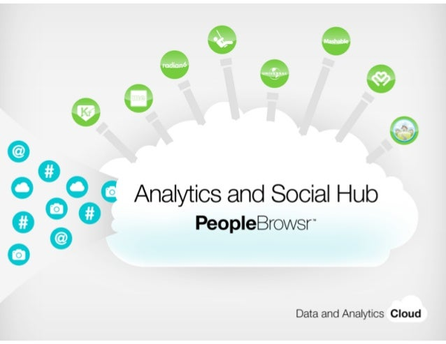 PeopleBrowsr           Social Media and Influence Measurement   | 1