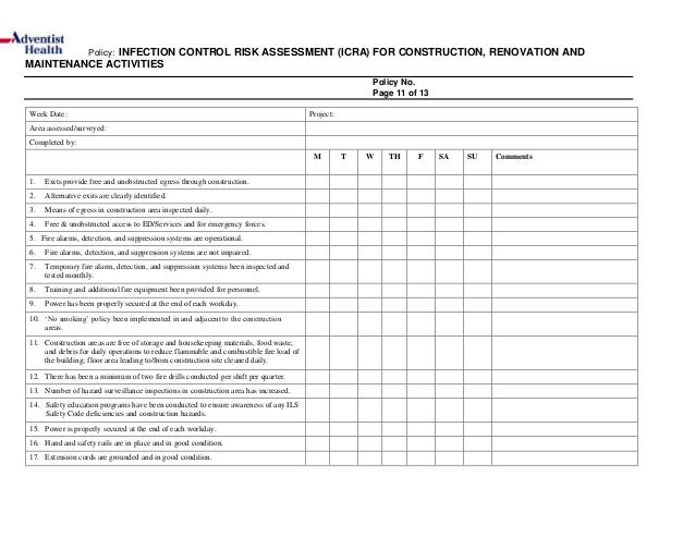 nursery risk assessment Tool 4: risk assessment templates what is risk assessment the risk assessment process is something that we all do every day in all aspects of our lives.