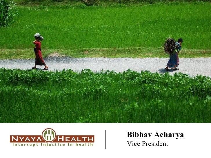 Bibhav Acharya Vice President