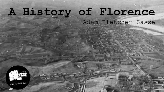 A History of Florence Adam Fletcher Sasse
