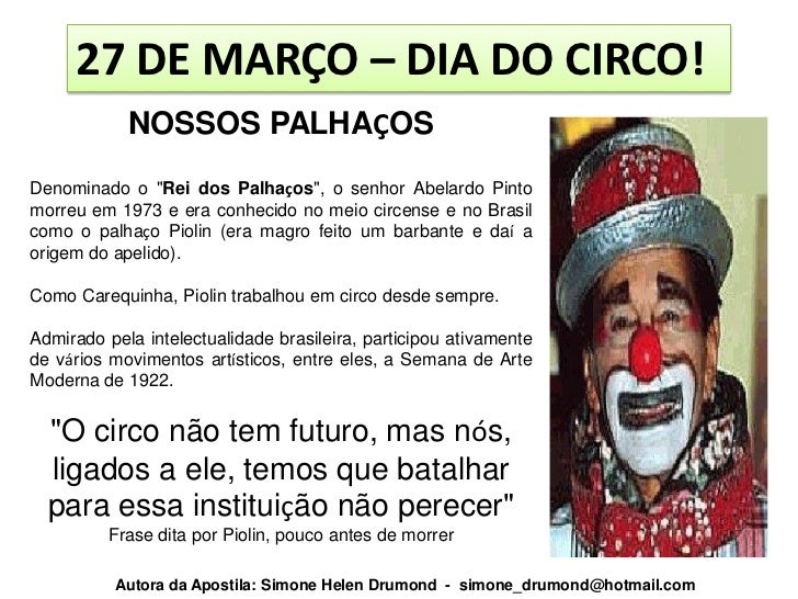 A História Do Circo Volume 1 Simone Helen Drumond