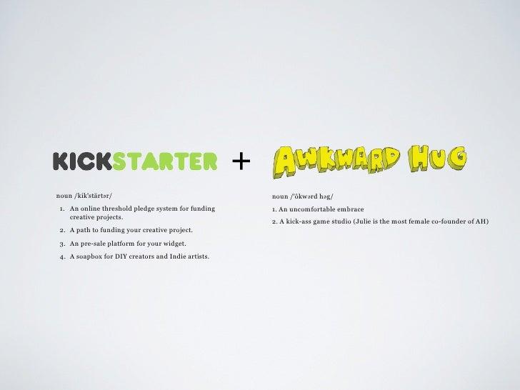 Crowdfunding with Kickstarter Slide 2