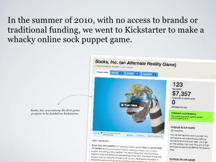 Crowdfunding with Kickstarter Slide 3