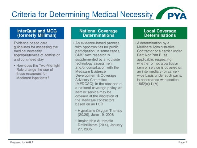 medical necessity what it means and 2018 update rh slideshare net