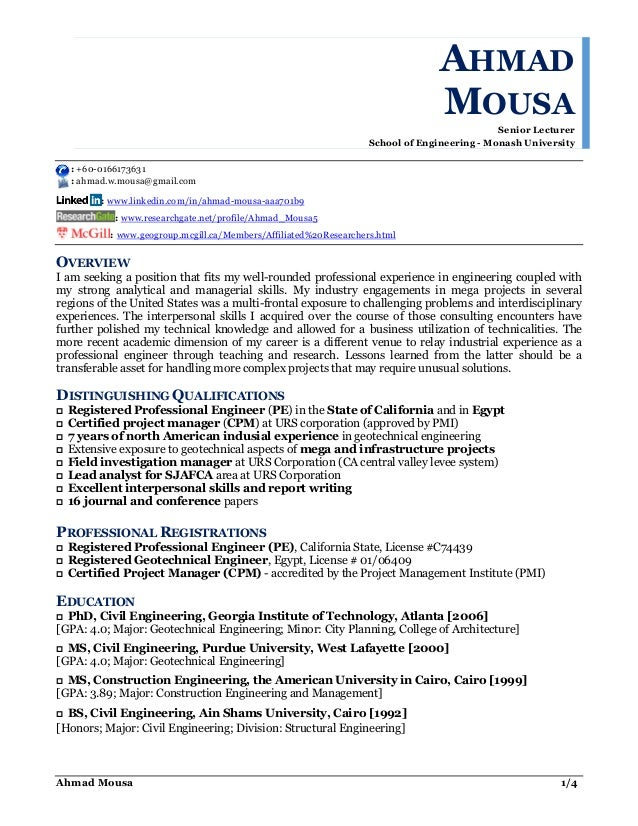 Ahmad mousa cv consulting jun 2016 for linkedin