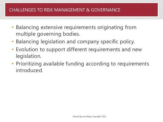 Ahmed Baig, CISO at Abu Dhabi Government Entity - Establishing effective risk management framework for compliance Slide 3