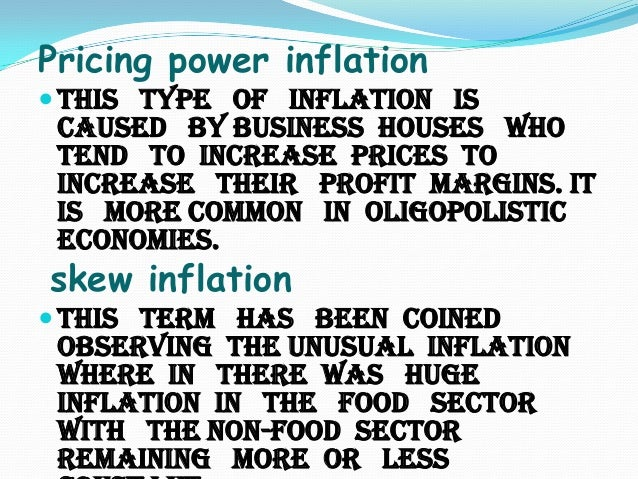 Inflation and economy of pakistan essay
