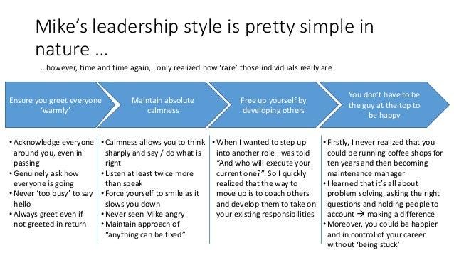 Leadership essay mba