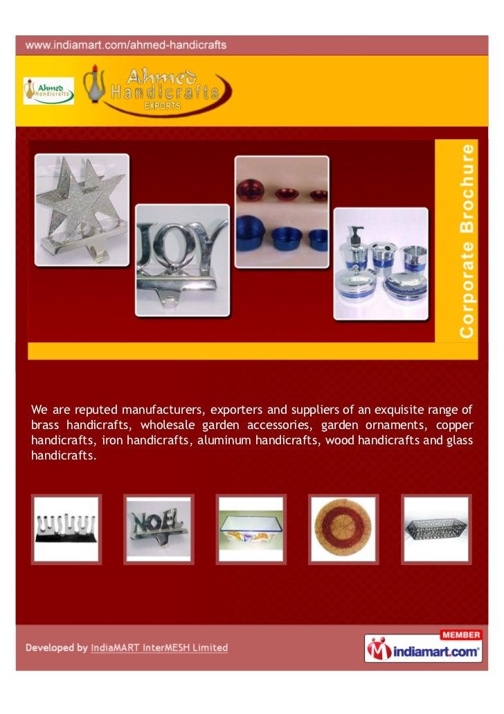 Ahmed Handicrafts Exports Moradabad Handicraft Items