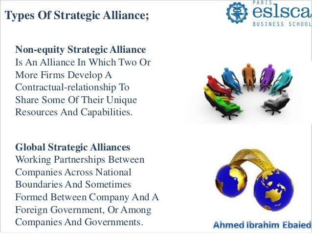 Strategic alliance