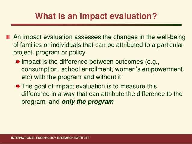 an evaluation of the impact of This report presents the findings of a project to evaluate the impact that a small  set of community based interventions had on the rates of.