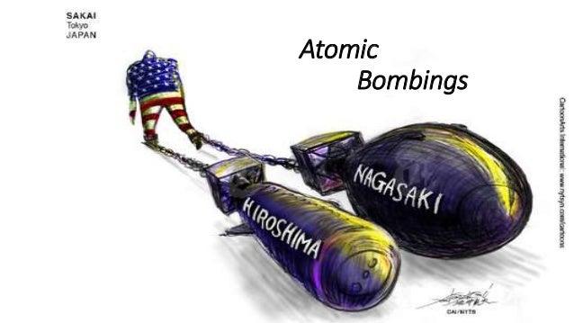 atomic bombing of hiroshima and nagasaki Upon hearing the news of the atomic bombing of japan on his way home from potsdam,  the hiroshima and nagasaki atomic bombs did not defeat japan,.