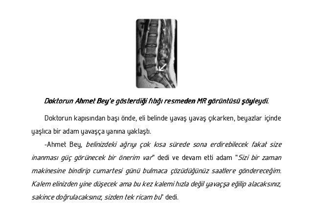 Bel ağrısı ile ilgili kısa bir hikaye Slide 3