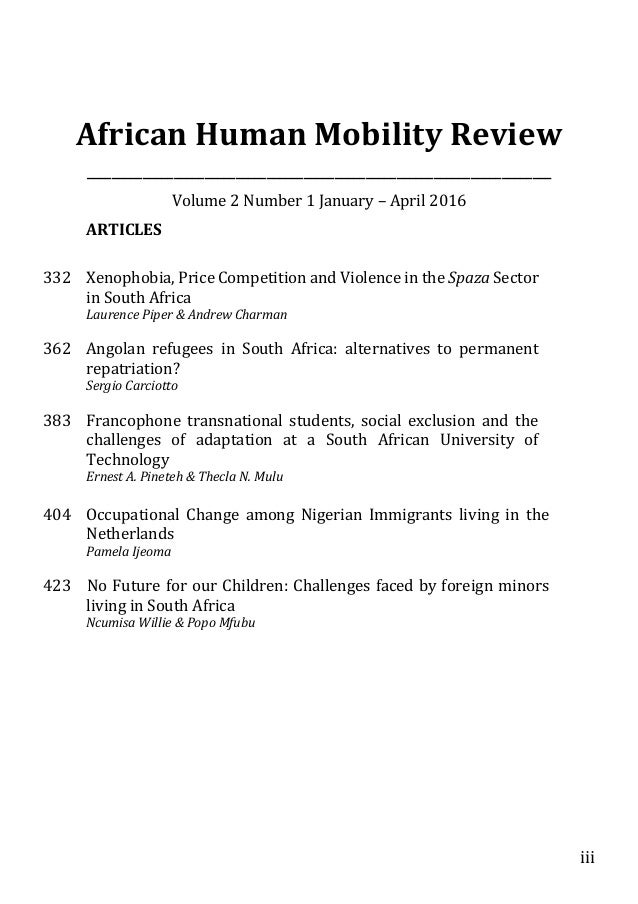 essay about xenophobia in south africa Pte academic essay - xenophobia has accelerated rapidly in  sample essay: xenophobia is  the incidents of the outbreak of xenophobia violence in south africa.