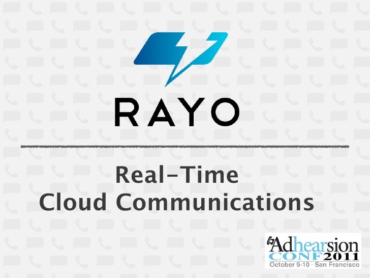 Real-TimeCloud Communications