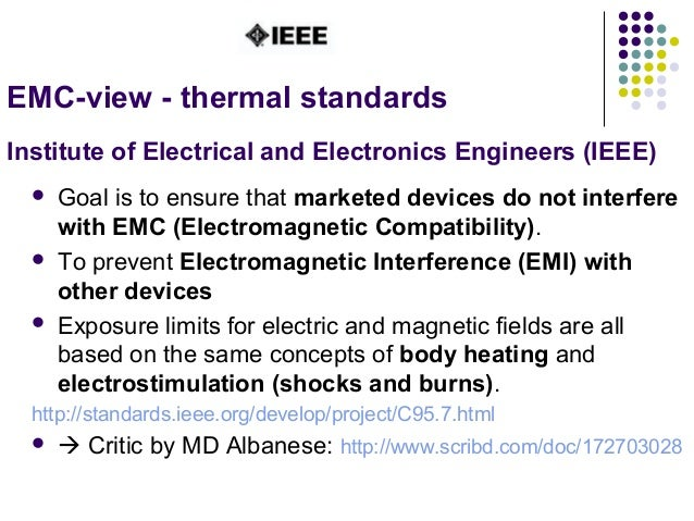  Goal is to ensure that marketed devices do not interfere with EMC (Electromagnetic Compatibility).  To prevent Electrom...