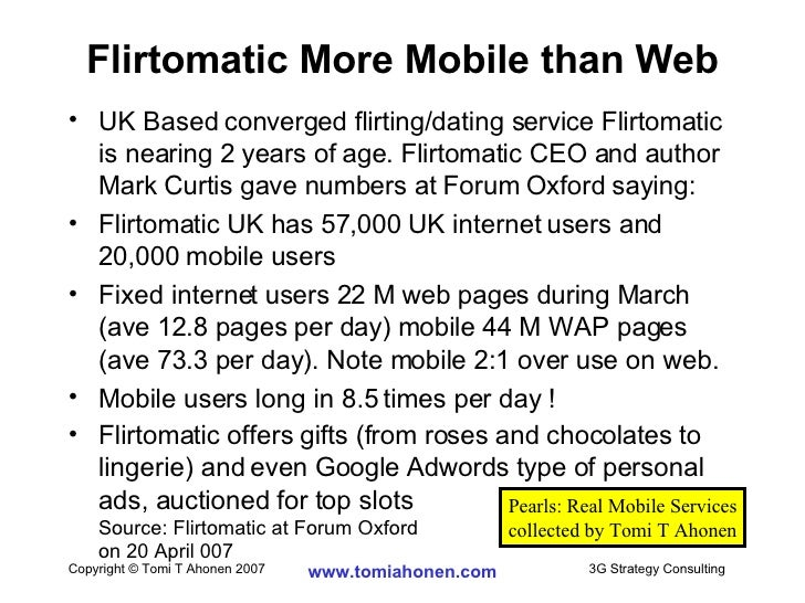 flirtomatic dating site
