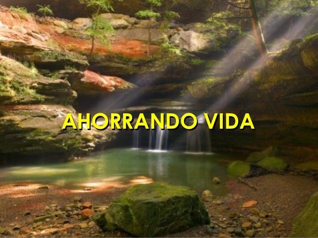 AHORRANDO VIDAAHORRANDO VIDA