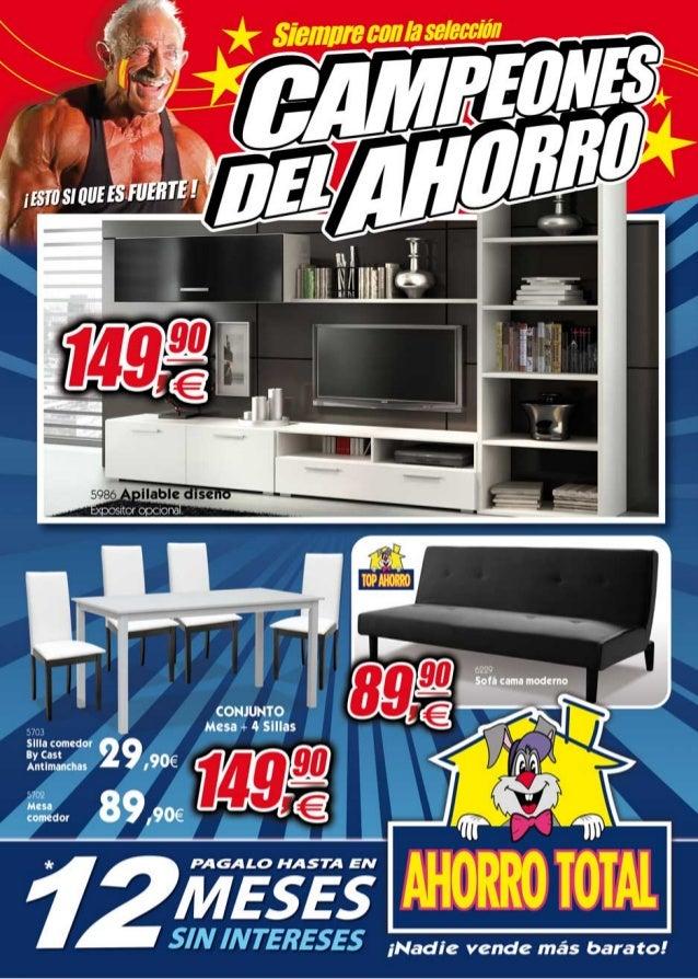 Ahorro total verano 2014 for Dormitorios ahorro total