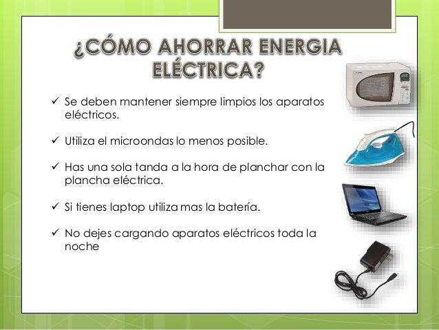 El ahorro energ tico - Maneras de ahorrar energia ...