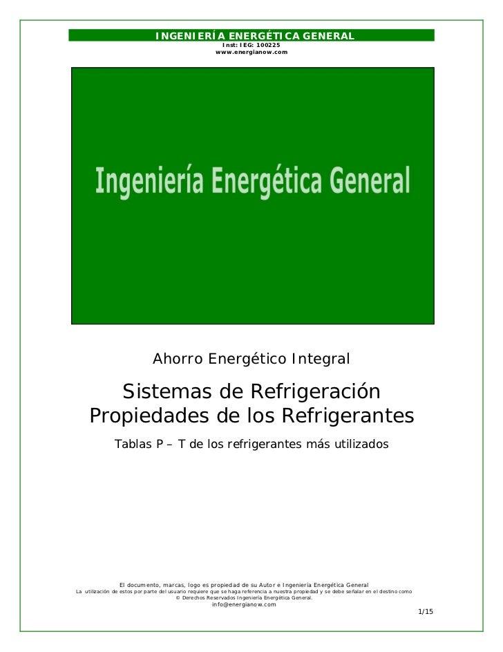 INGENIERÍA ENERGÉTICA GENERAL                                                        Inst: IEG: 100225                    ...