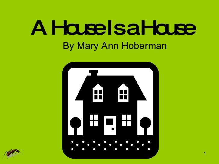 A House Is a House By Mary Ann Hoberman