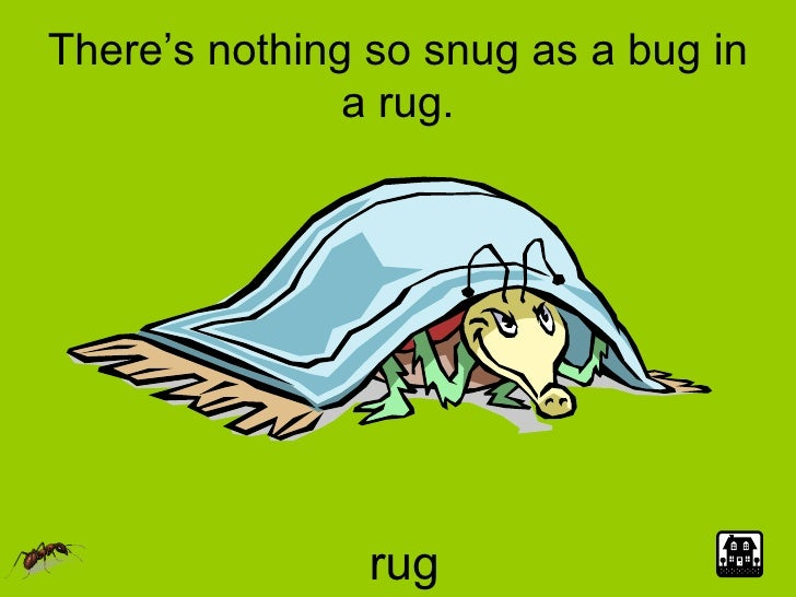 Charming Clip Art Bug In A Rug