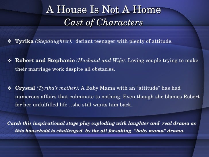 A House Is Not A Home Version 1 3 Minus