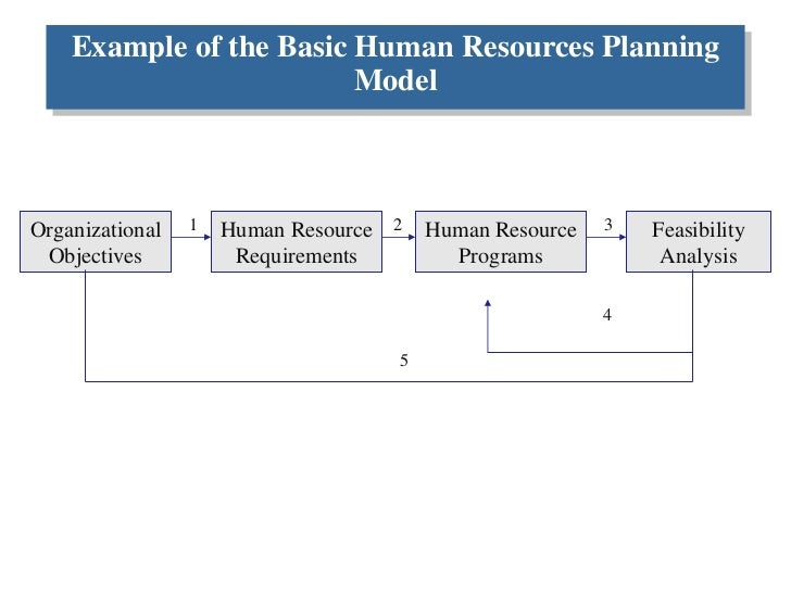 human resources plan example the nursing human resource planning