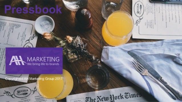 Pressbook Copyrighted AH Marketing Group 2017