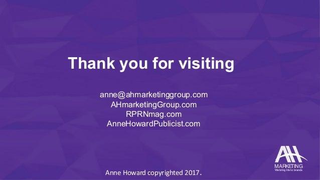 AH Marketing Group - pressbook