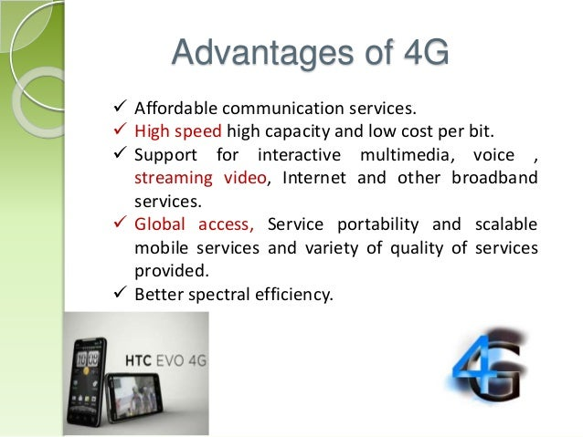4g presentation 4g ppt - authorstream presentation  rates and voice and paging services to provide interactive multimedia including teleconferencing and internet access 4g.