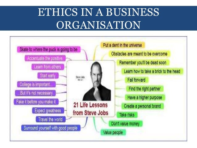 the role of ethics in business pdf