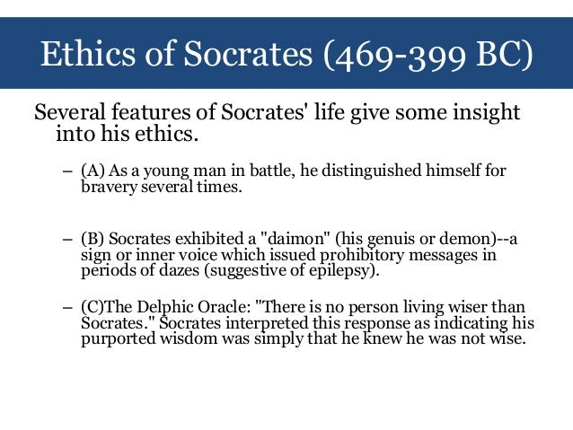 socrates ethics A well-taught course can defeat the presumption that normative ethics is dead  and relativism reigns (especially in college towns) an ethics.