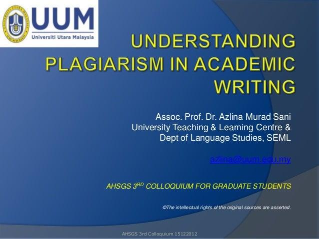 Assoc. Prof. Dr. Azlina Murad Sani      University Teaching & Learning Centre &             Dept of Language Studies, SEML...