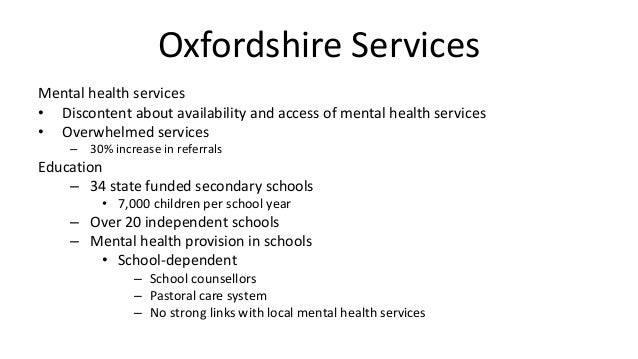 local mental health services