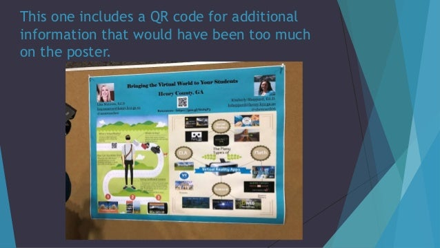 This one includes a QR code for additional information that would have been too much on the poster.