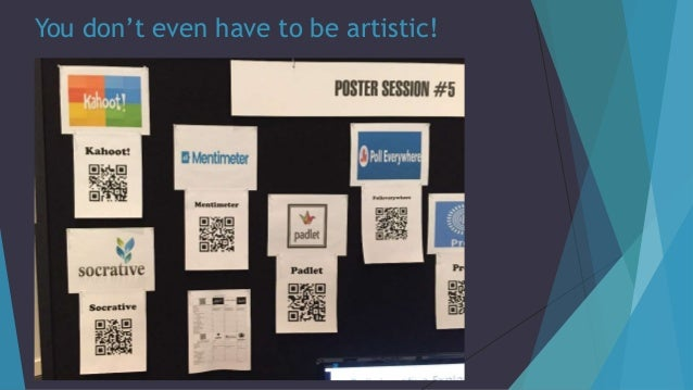 You don't even have to be artistic!