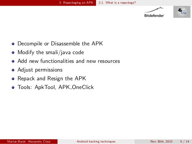 android hack apk authentication code