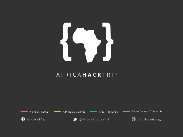 We are a group of developers & designers from Europe, curious about the emerging African tech hubs.