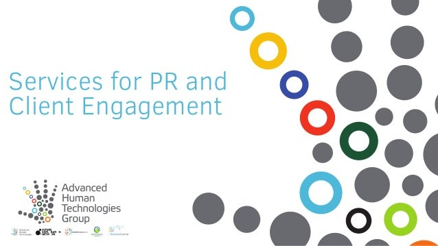 Services for PR and Client Engagement