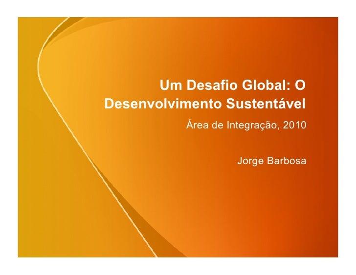 Desenvolvimento Global