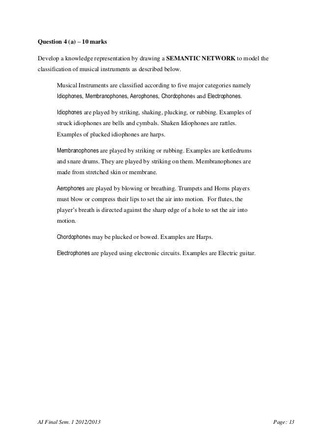 Scsj3553 artificial intelligence final exam paper utm 13 toneelgroepblik Gallery