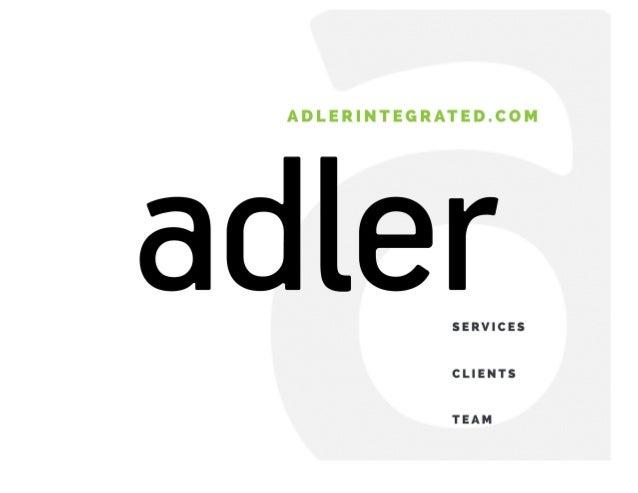 Adler Integrated Capabilities Deck