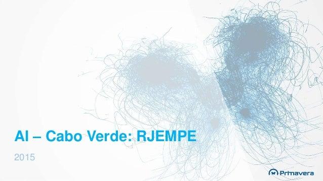 AI – Cabo Verde: RJEMPE 2015